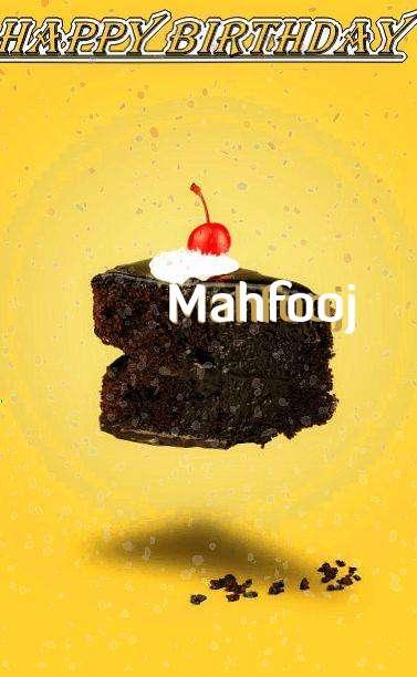 Happy Birthday Mahfooj