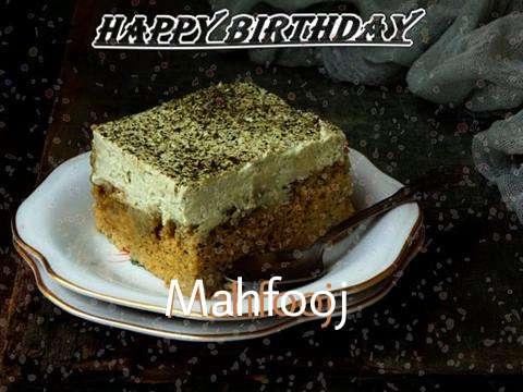 Mahfooj Birthday Celebration