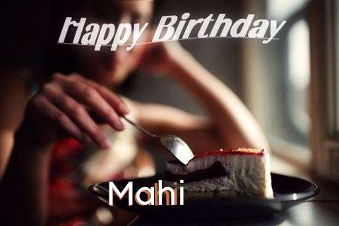 Happy Birthday Wishes for Mahi