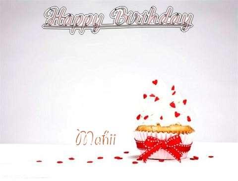 Happy Birthday Mahii