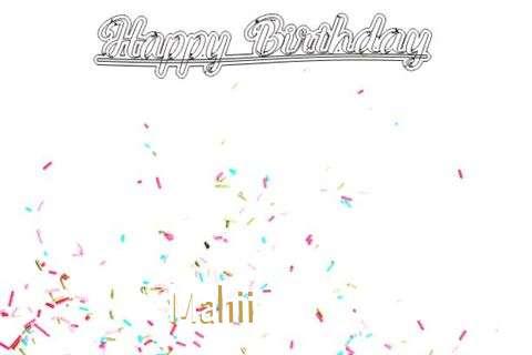 Happy Birthday to You Mahii