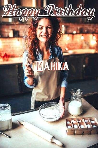 Happy Birthday Cake for Mahika