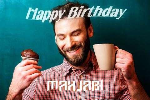 Happy Birthday Mahjabi Cake Image