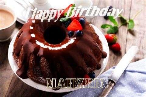 Happy Birthday Mahzbin