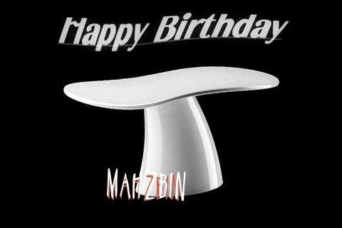 Mahzbin Birthday Celebration