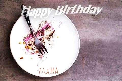 Happy Birthday Maina