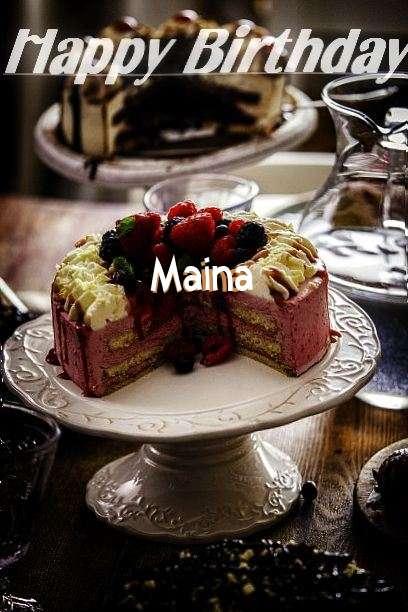 Maina Birthday Celebration
