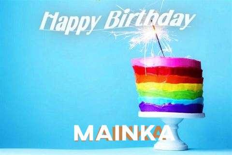 Happy Birthday Wishes for Mainka