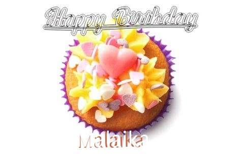 Happy Birthday Malaika Cake Image