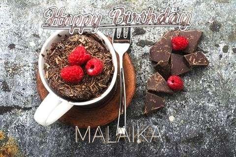 Happy Birthday Wishes for Malaika