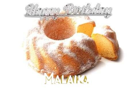 Happy Birthday to You Malaika
