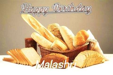 Birthday Wishes with Images of Malashri