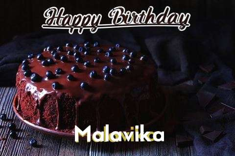 Happy Birthday Cake for Malavika
