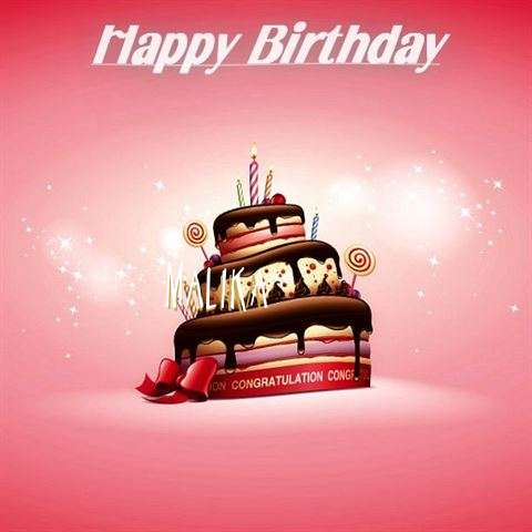 Birthday Images for Malika