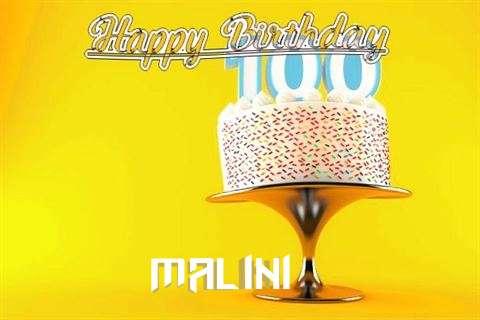Happy Birthday Wishes for Malini