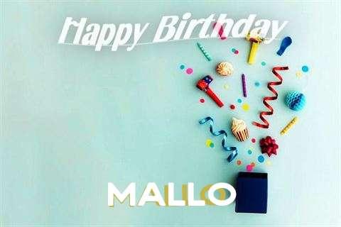 Happy Birthday Wishes for Mallo