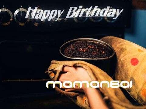 Happy Birthday Cake for Mamanbai