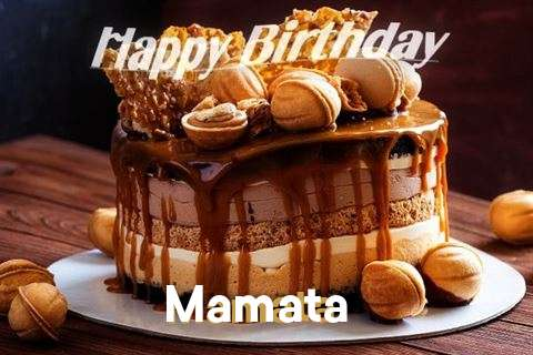 Happy Birthday Wishes for Mamata