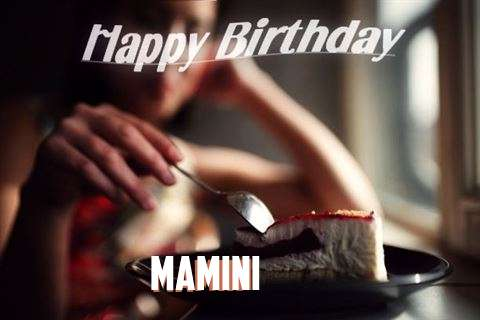 Happy Birthday Wishes for Mamini