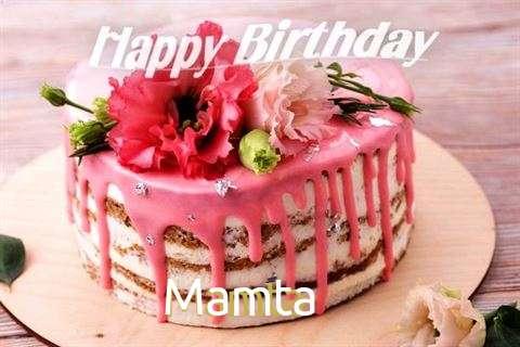Happy Birthday Cake for Mamta