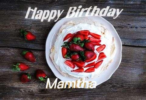 Happy Birthday to You Mamtha
