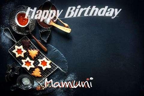Happy Birthday Mamuni Cake Image