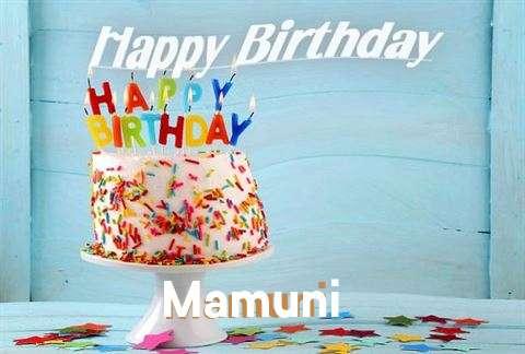 Birthday Images for Mamuni