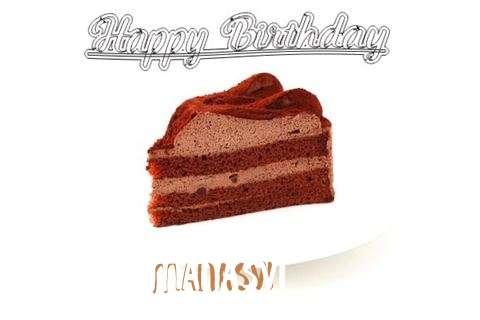 Happy Birthday Wishes for Manasvi