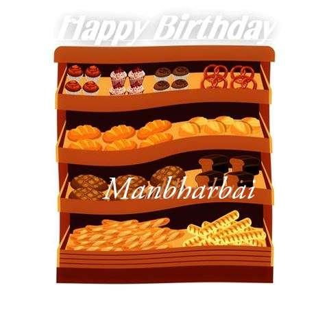 Happy Birthday Cake for Manbharbai