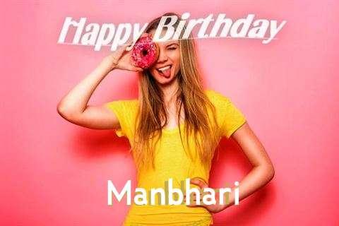 Happy Birthday to You Manbhari