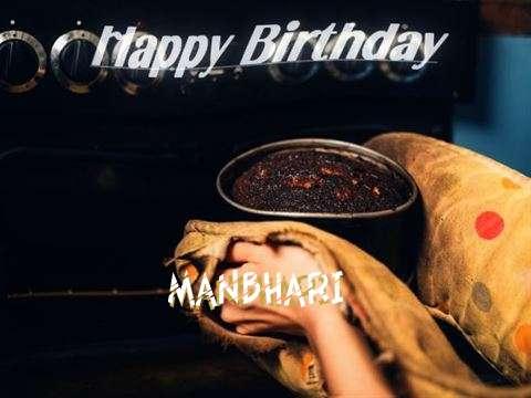 Happy Birthday Cake for Manbhari