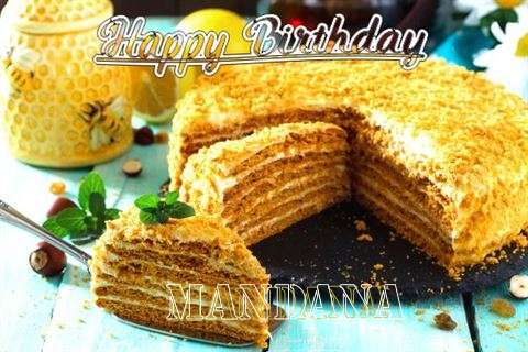 Birthday Wishes with Images of Mandana