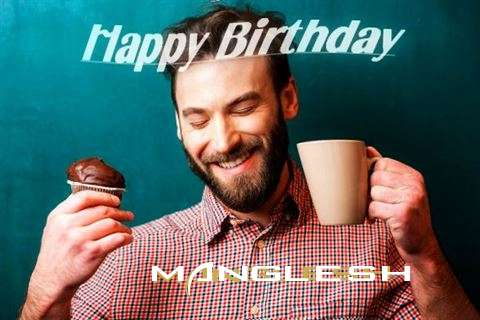 Happy Birthday Manglesh Cake Image