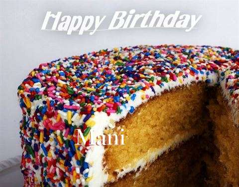 Happy Birthday Wishes for Mani