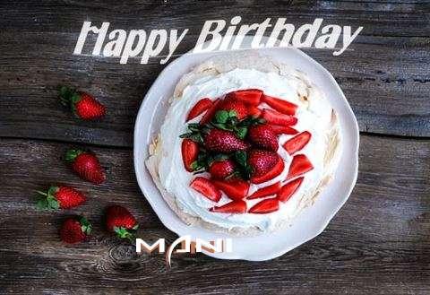 Happy Birthday to You Mani