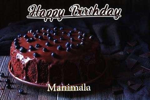 Happy Birthday Cake for Manimala