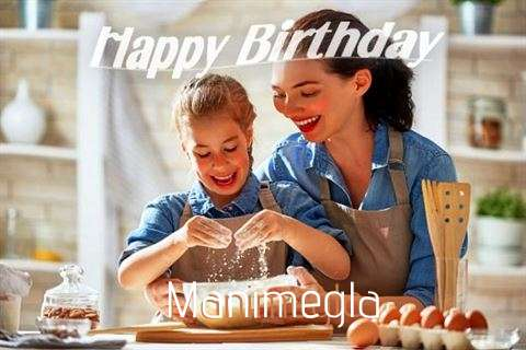 Birthday Wishes with Images of Manimegla