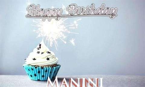 Happy Birthday to You Manini