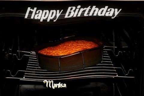Happy Birthday Manisa Cake Image