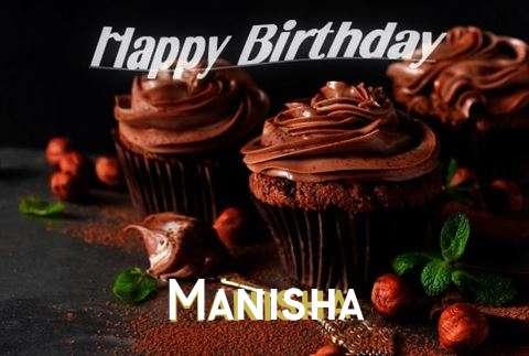 Birthday Wishes with Images of Manisha