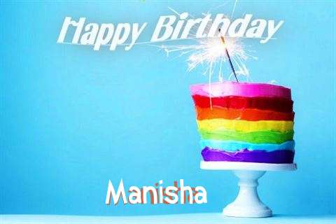 Happy Birthday Wishes for Manisha