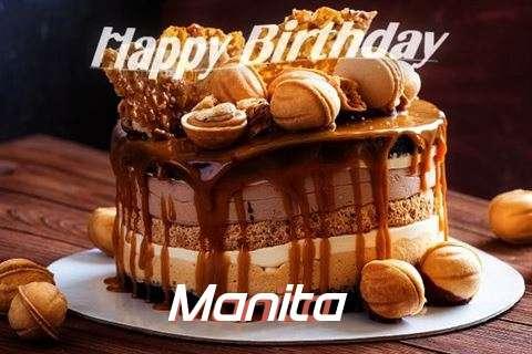 Happy Birthday Wishes for Manita