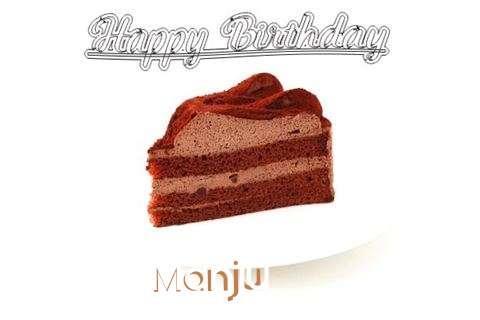 Happy Birthday Wishes for Manju