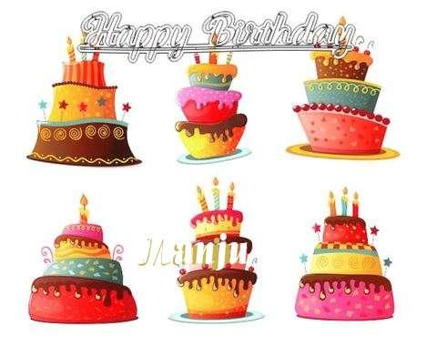 Happy Birthday to You Manju