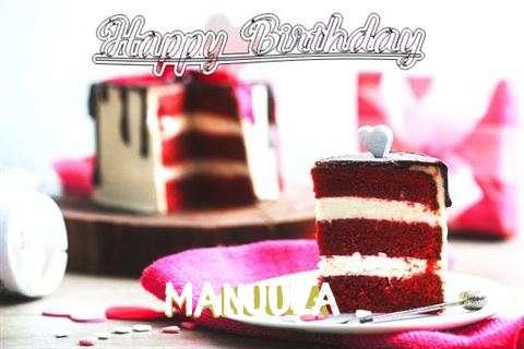Happy Birthday Wishes for Manjula