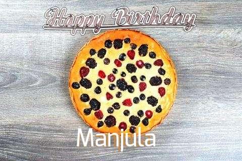 Happy Birthday Cake for Manjula