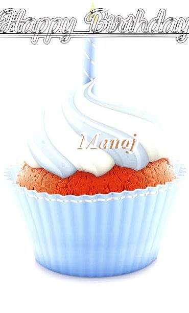 Happy Birthday Wishes for Manoj