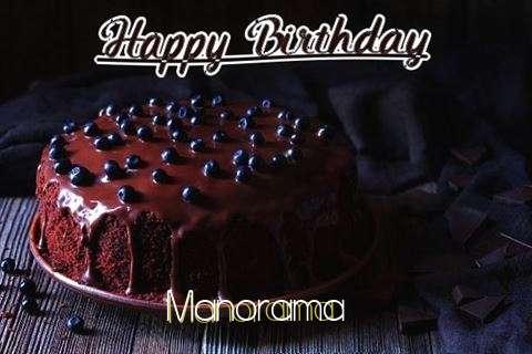 Happy Birthday Cake for Manorama