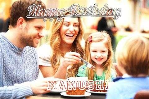 Birthday Wishes with Images of Manushi