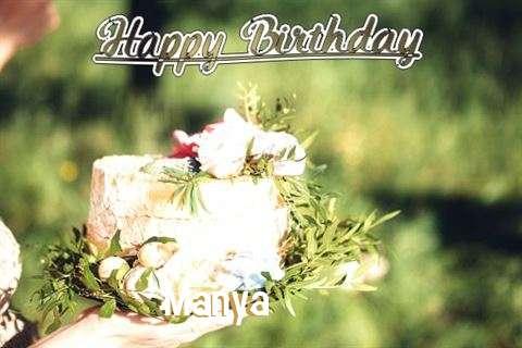 Birthday Images for Manya